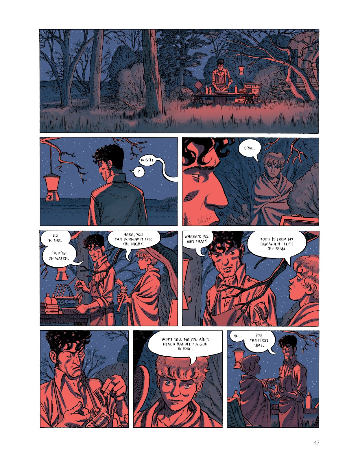 Read online The Smell of Starving Boys comic -  Issue # TPB - 48