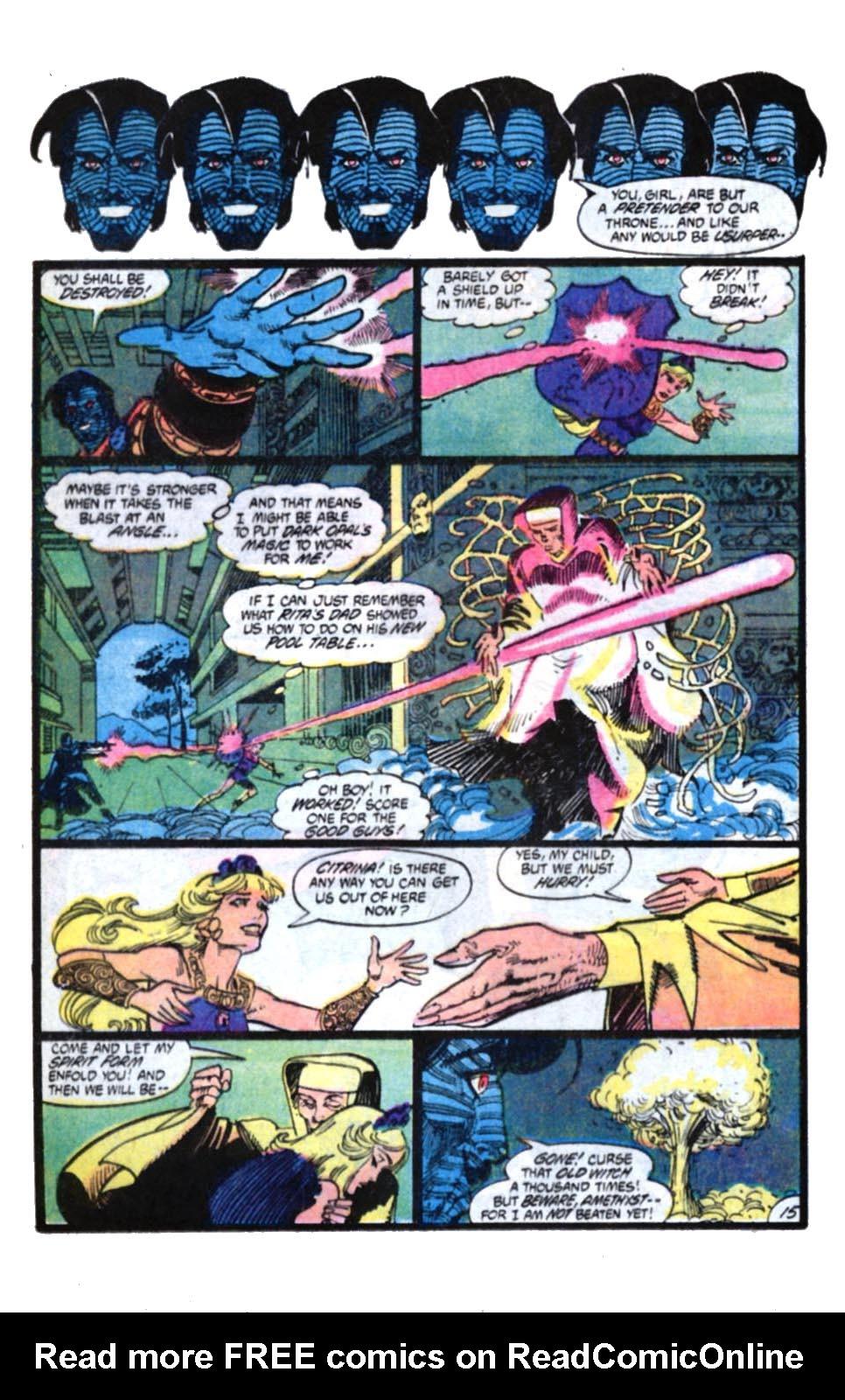 Read online Amethyst, Princess of Gemworld comic -  Issue #4 - 15