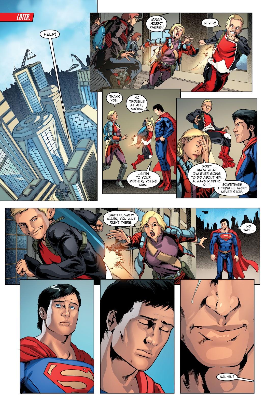 Read online Smallville Season 11 [II] comic -  Issue # TPB 4 - 97