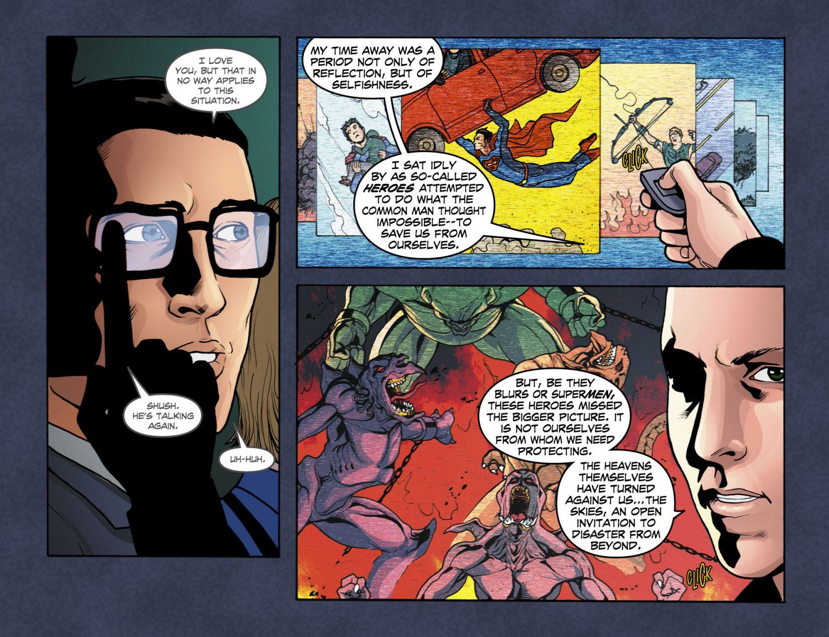 Read online Smallville: Season 11 comic -  Issue #4 - 19