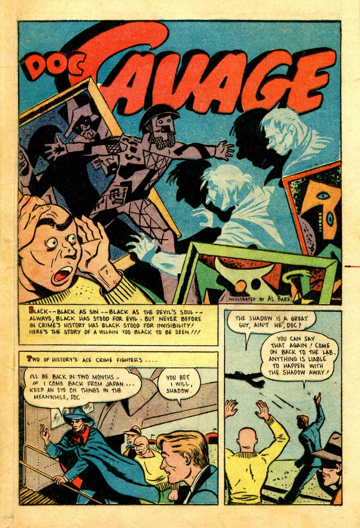 Read online Shadow Comics comic -  Issue #43 - 43