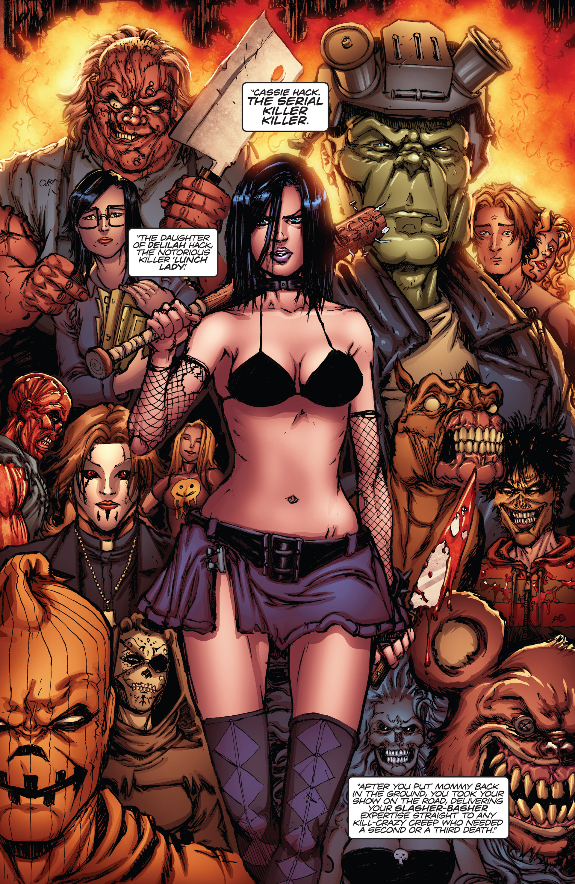 Read online Army of Darkness vs. Hack/Slash comic -  Issue #1 - 16