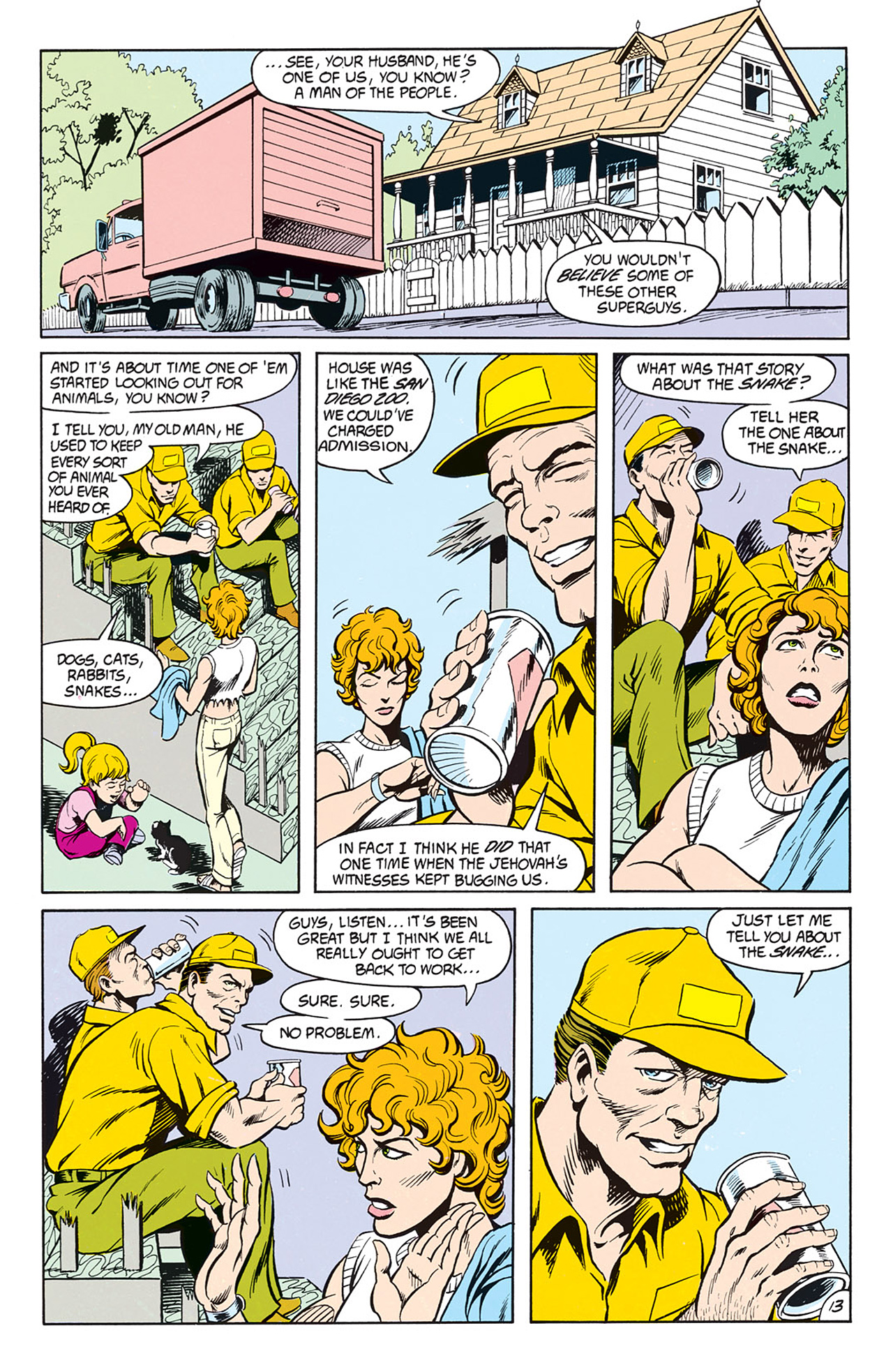 Read online Animal Man (1988) comic -  Issue #9 - 15