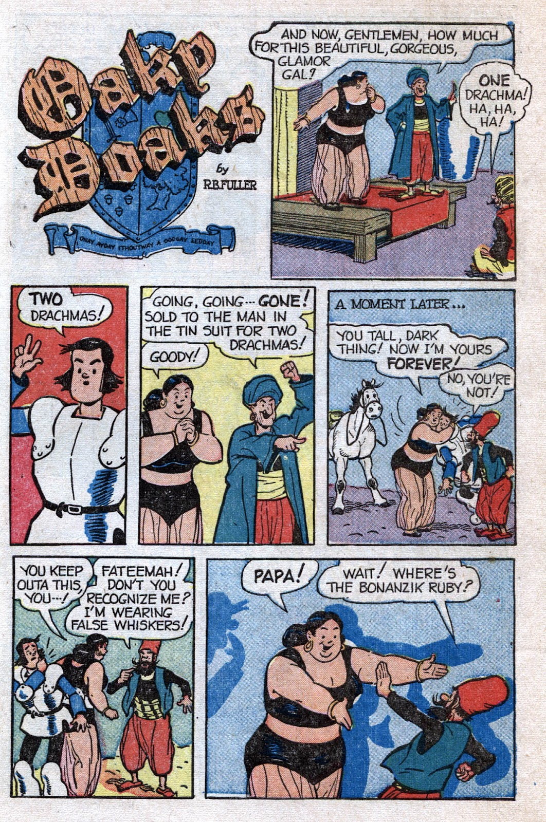 Read online Famous Funnies comic -  Issue #173 - 43