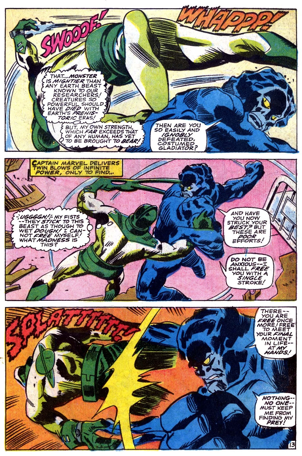 Captain Marvel (1968) issue 5 - Page 14