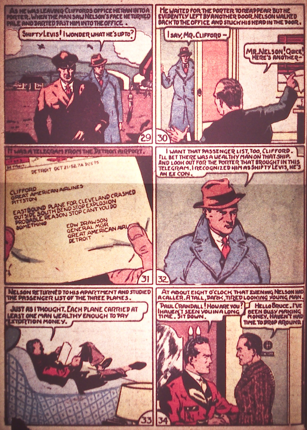 Read online Detective Comics (1937) comic -  Issue #12 - 28