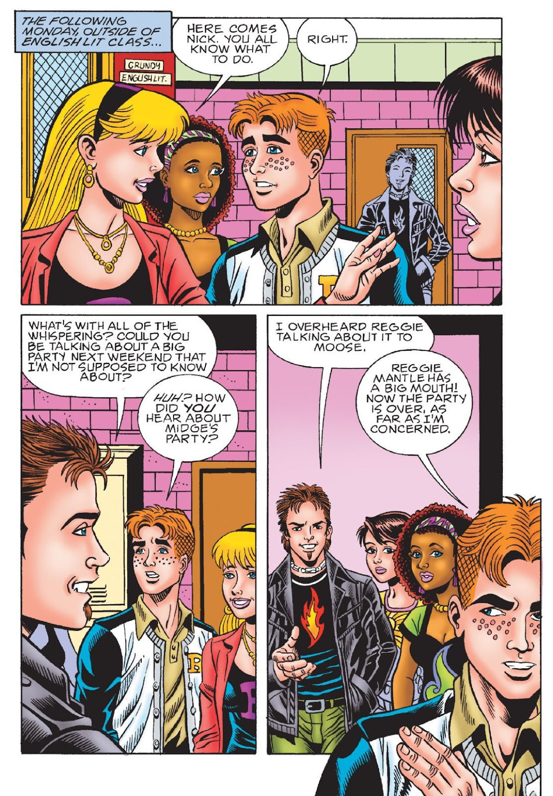 Read online Archie's New Look Series comic -  Issue #1 - 99
