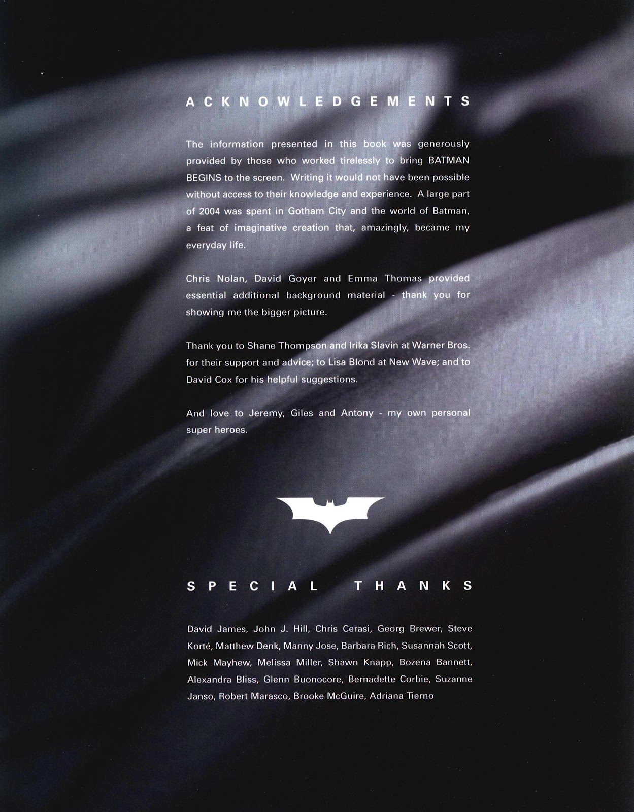 Read online Batman Begins: The Official Movie Guide comic -  Issue # TPB (Part 2) - 62