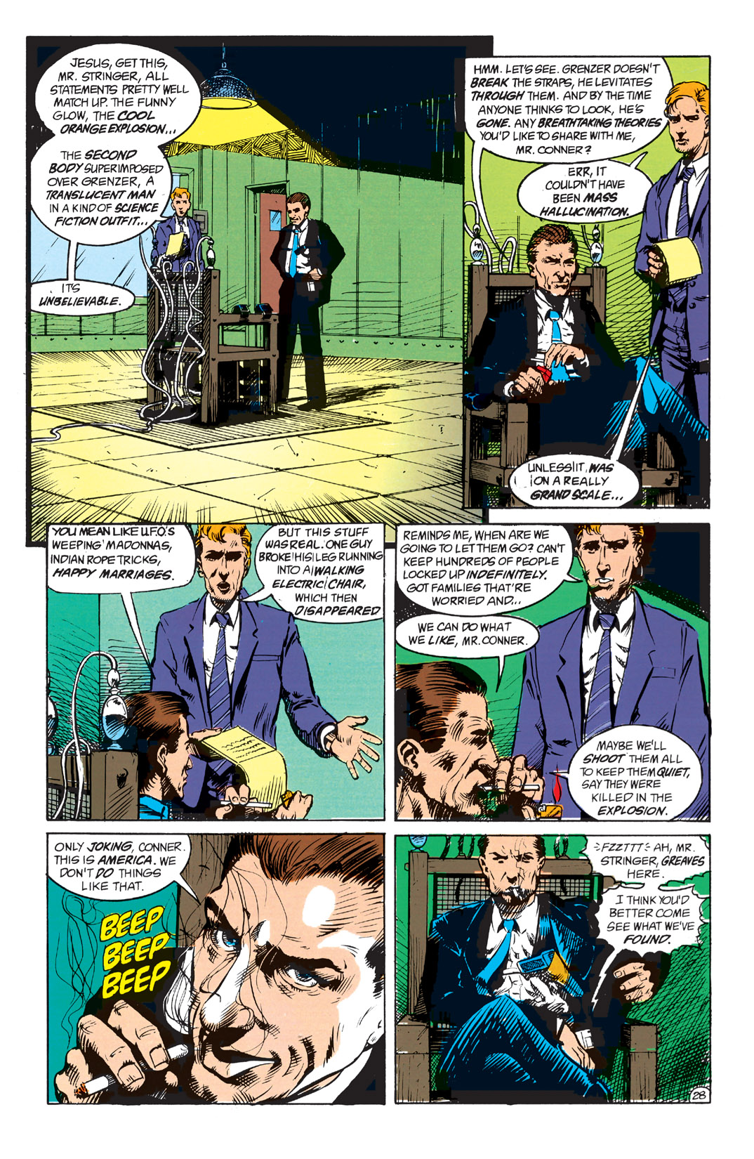 Read online Shade, the Changing Man comic -  Issue #1 - 30
