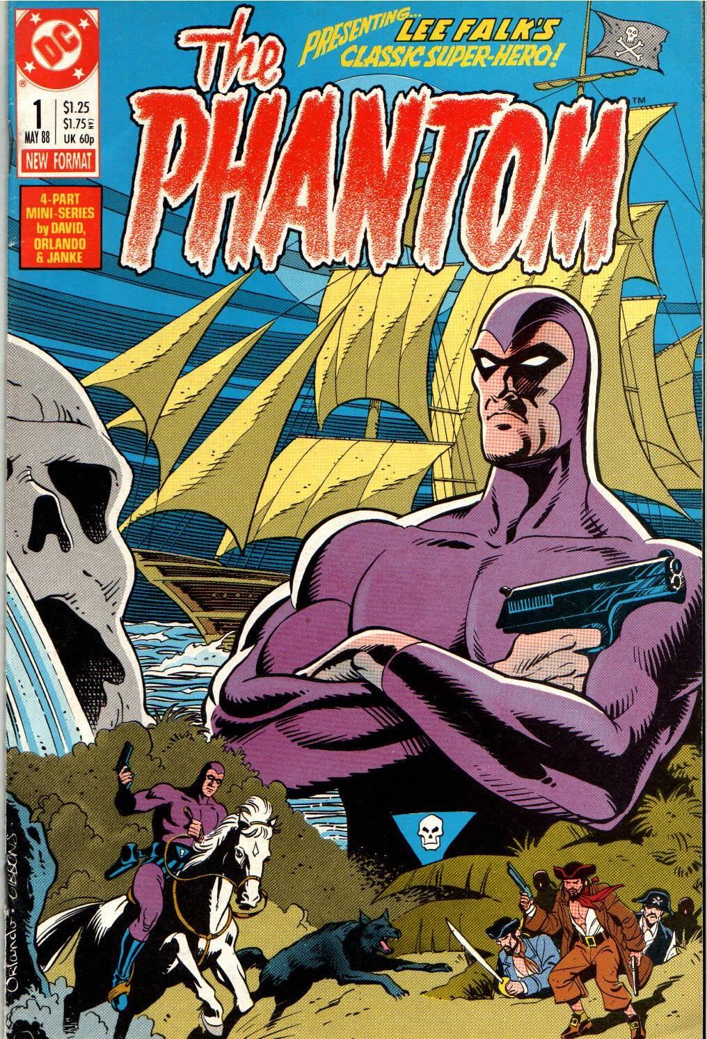 Read online The Phantom (1988) comic -  Issue #1 - 1