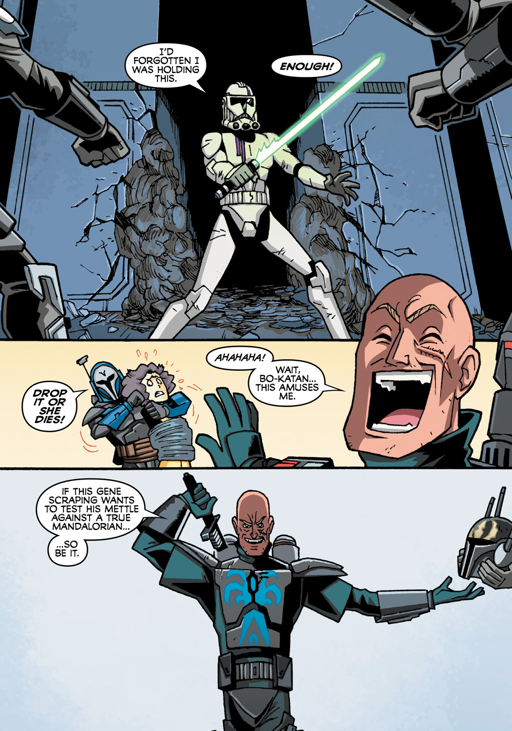 Read online Star Wars: The Clone Wars - Defenders of the Lost Temple comic -  Issue # Full - 57