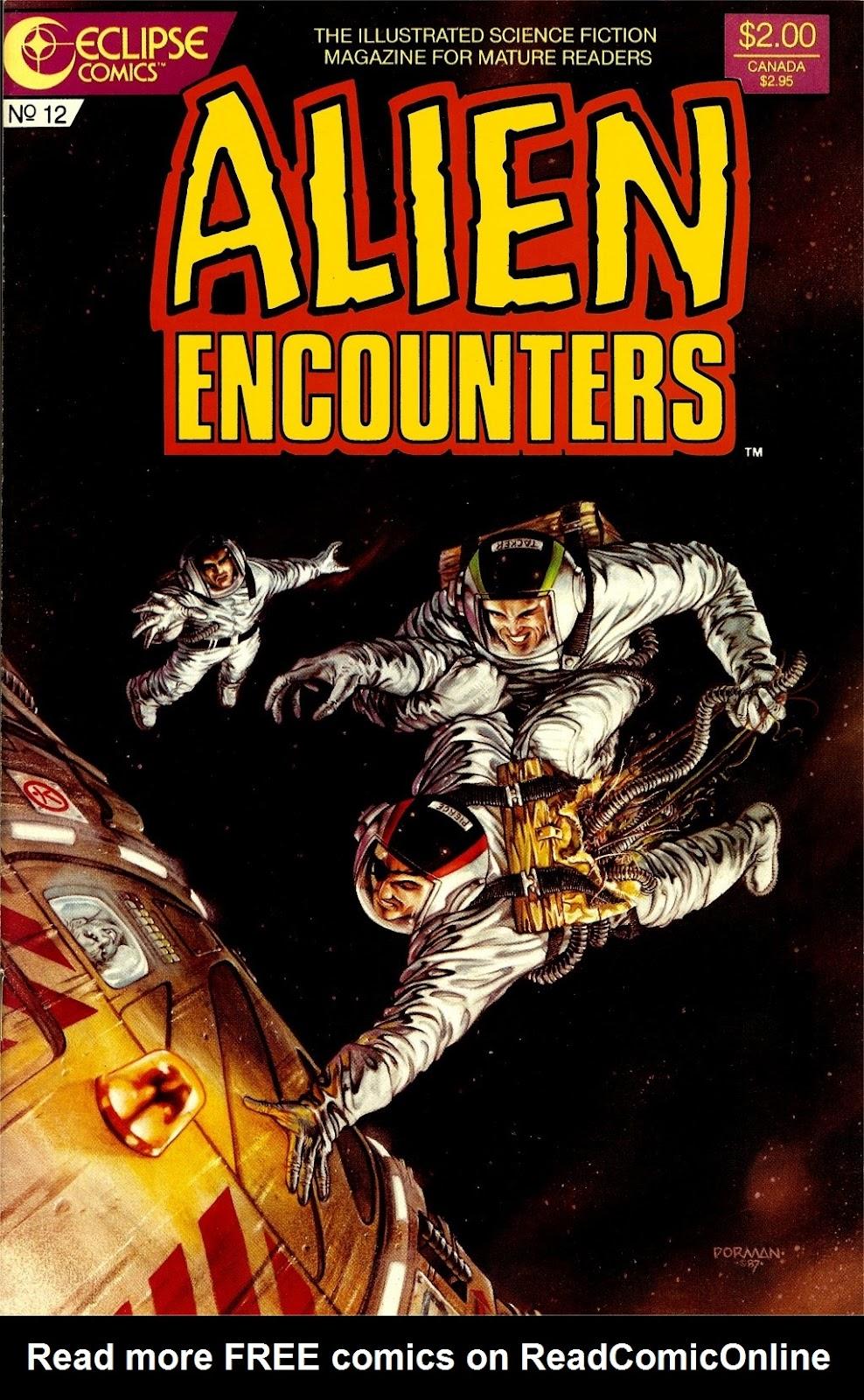 Alien Encounters 12 Page 1