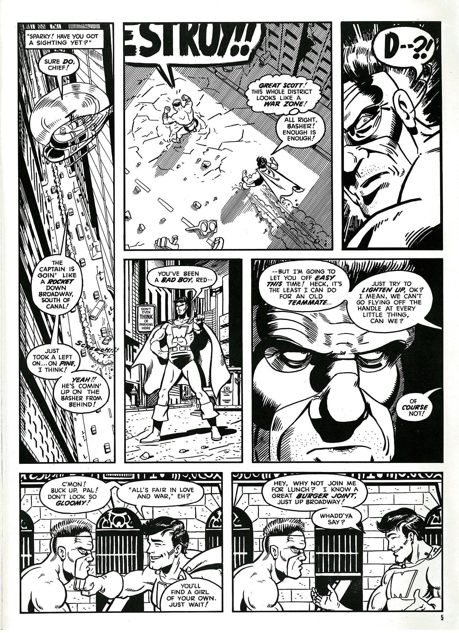 Read online Destroy!! comic -  Issue # Full - 7