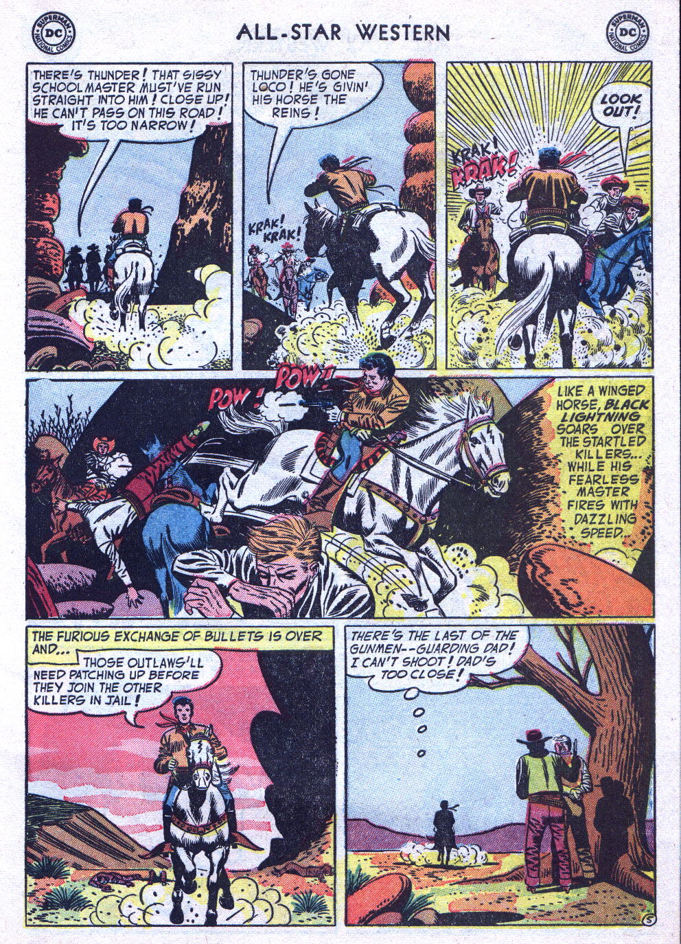 Read online All-Star Western (1951) comic -  Issue #76 - 31