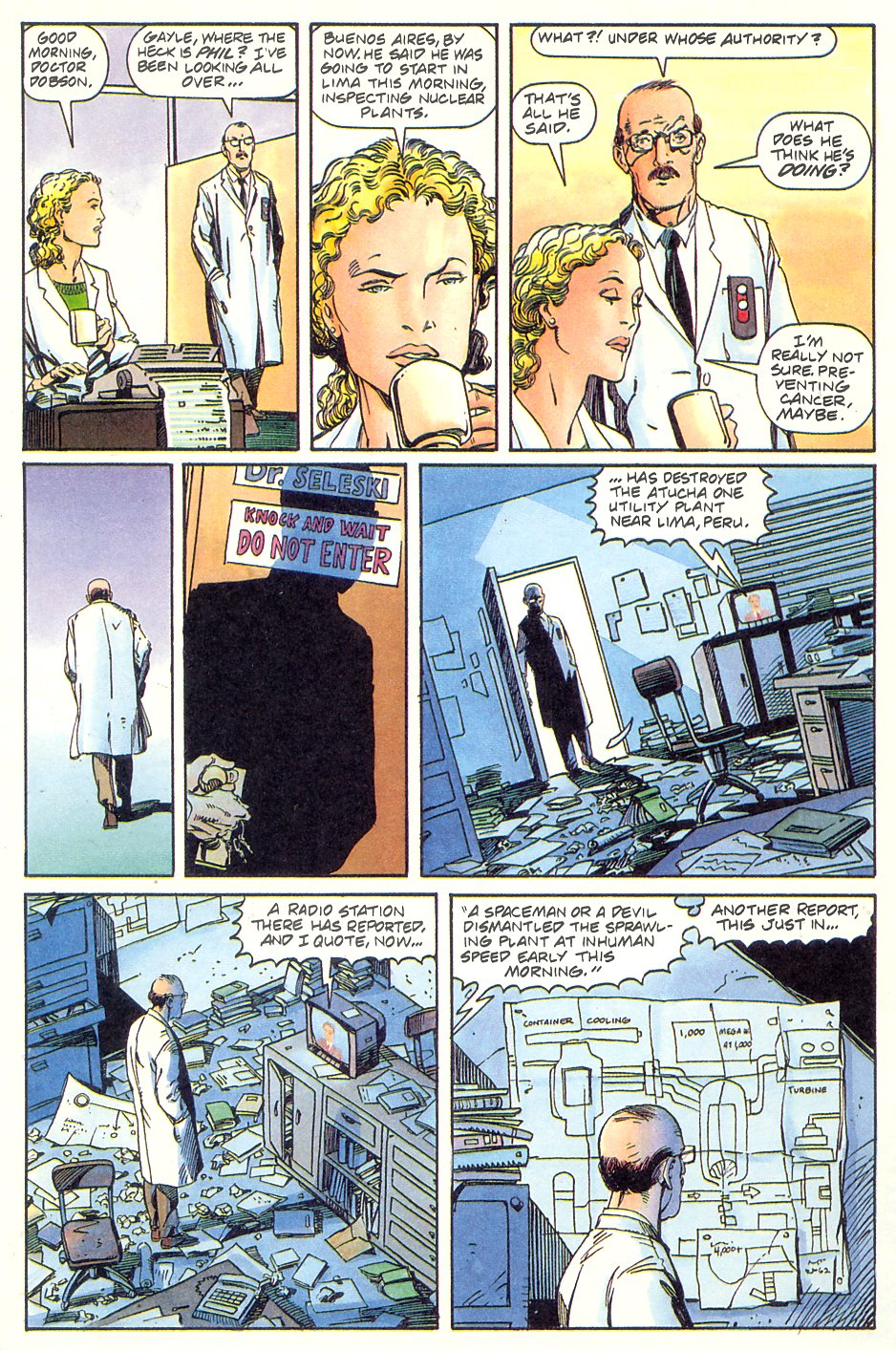 Read online Solar, Man of the Atom comic -  Issue #7 - 23