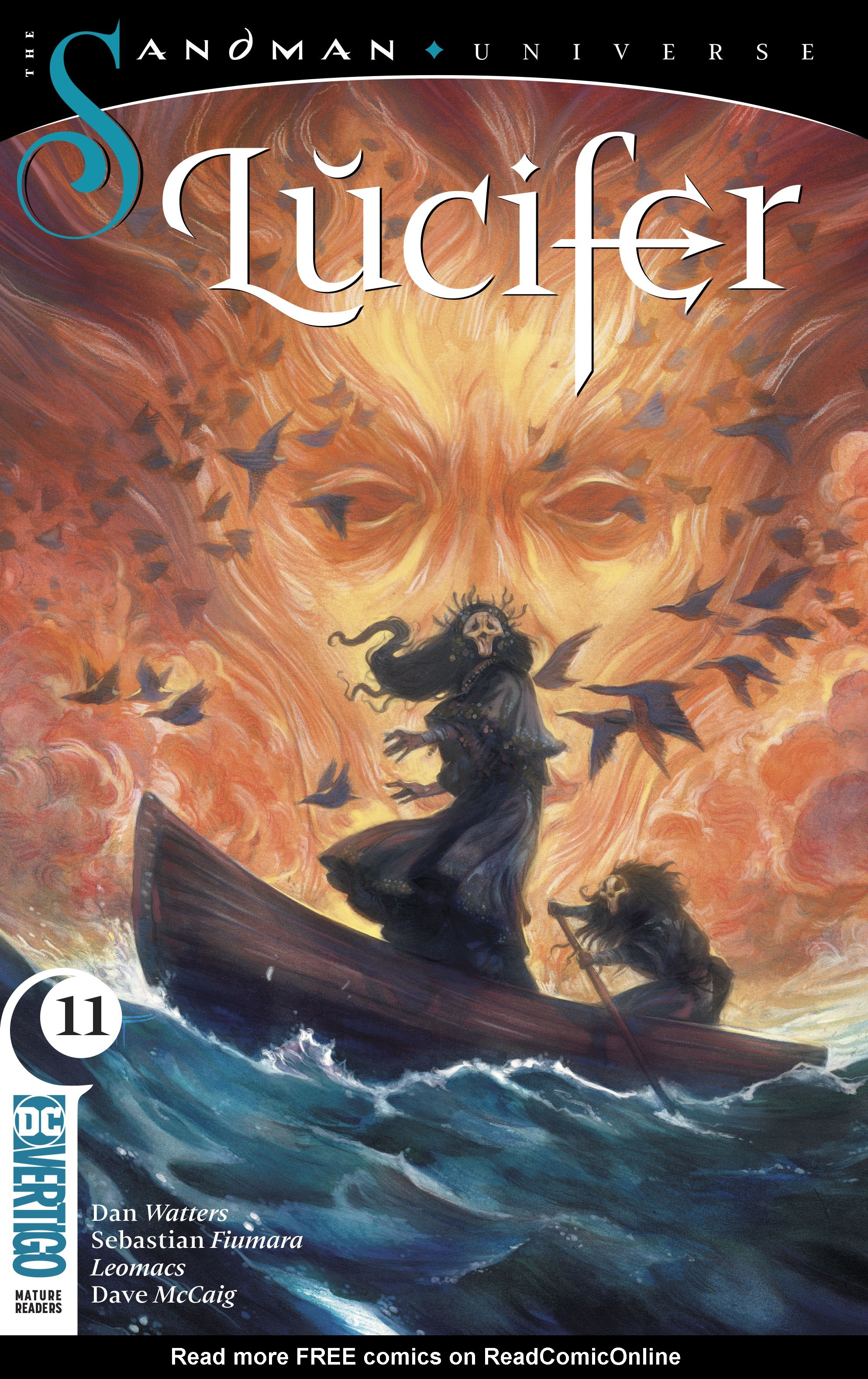 Read online Lucifer (2018) comic -  Issue #11 - 1