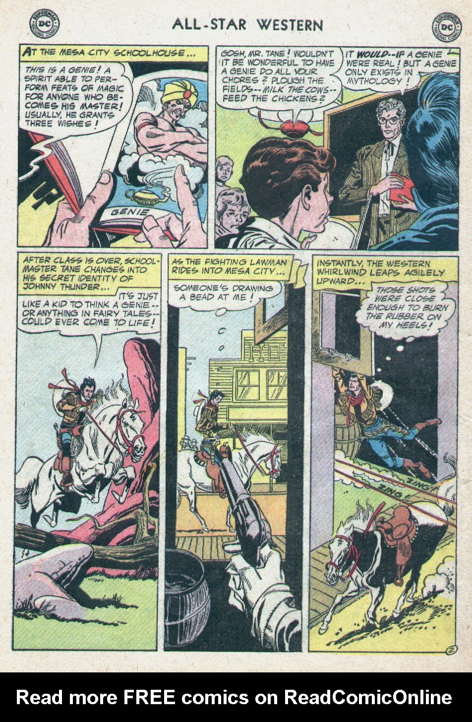 Read online All-Star Western (1951) comic -  Issue #90 - 28