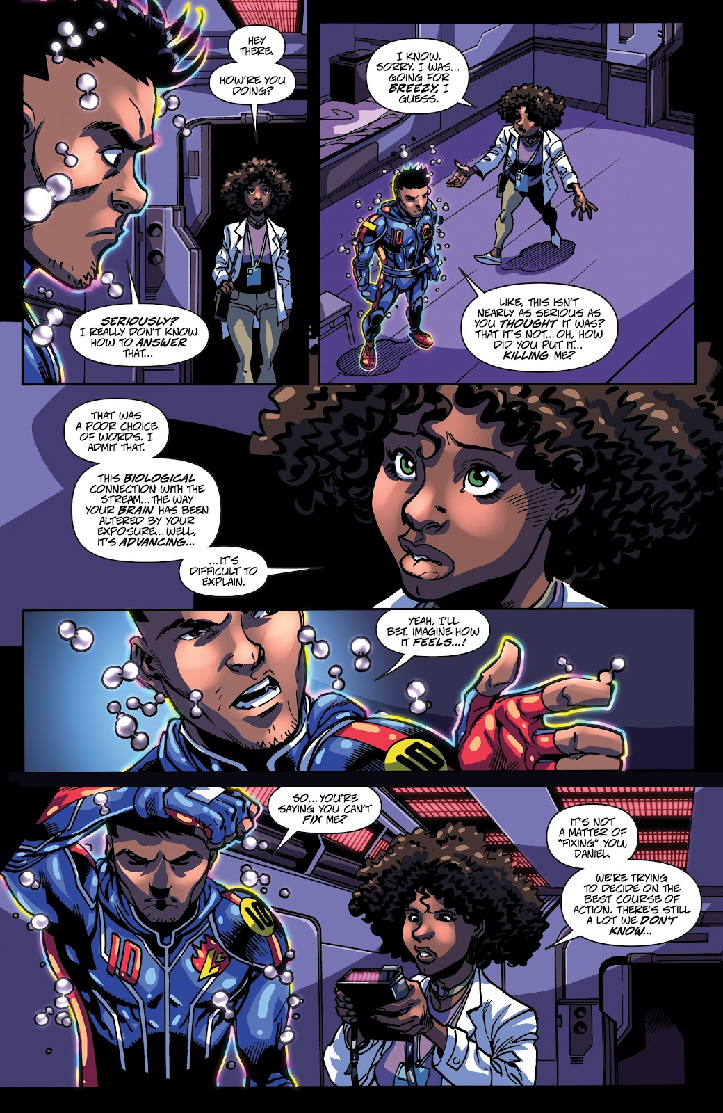 Read online Accell comic -  Issue #17 - 5
