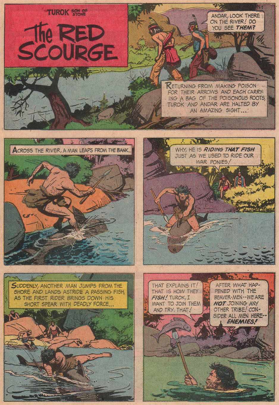 Read online Turok, Son of Stone comic -  Issue #51 - 23