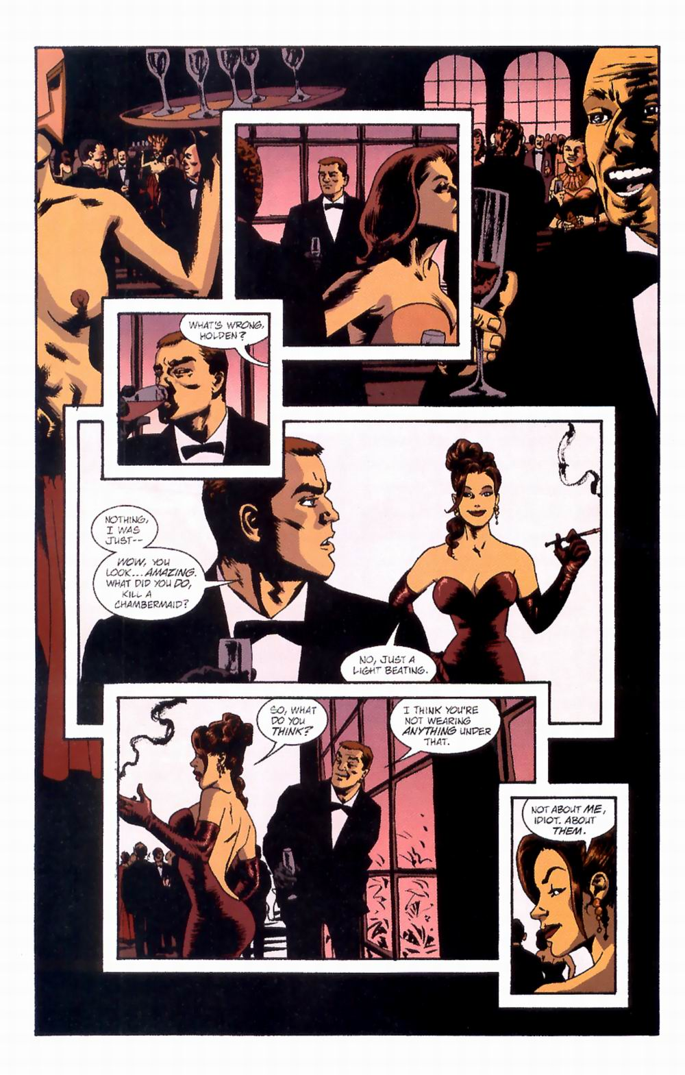 Read online Sleeper comic -  Issue #4 - 7