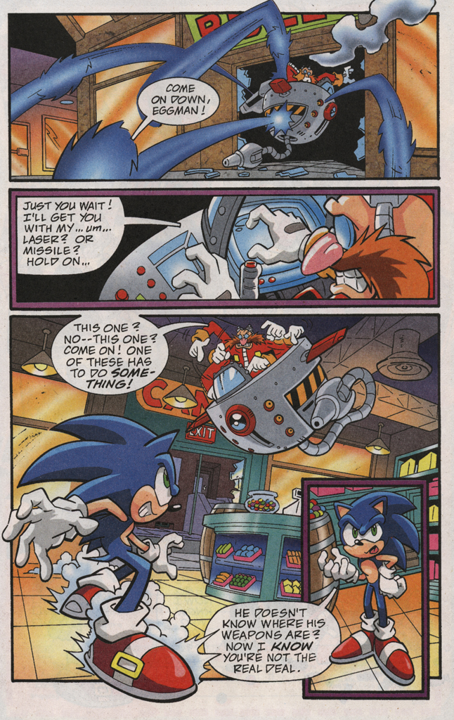 Read online Sonic X comic -  Issue #31 - 19