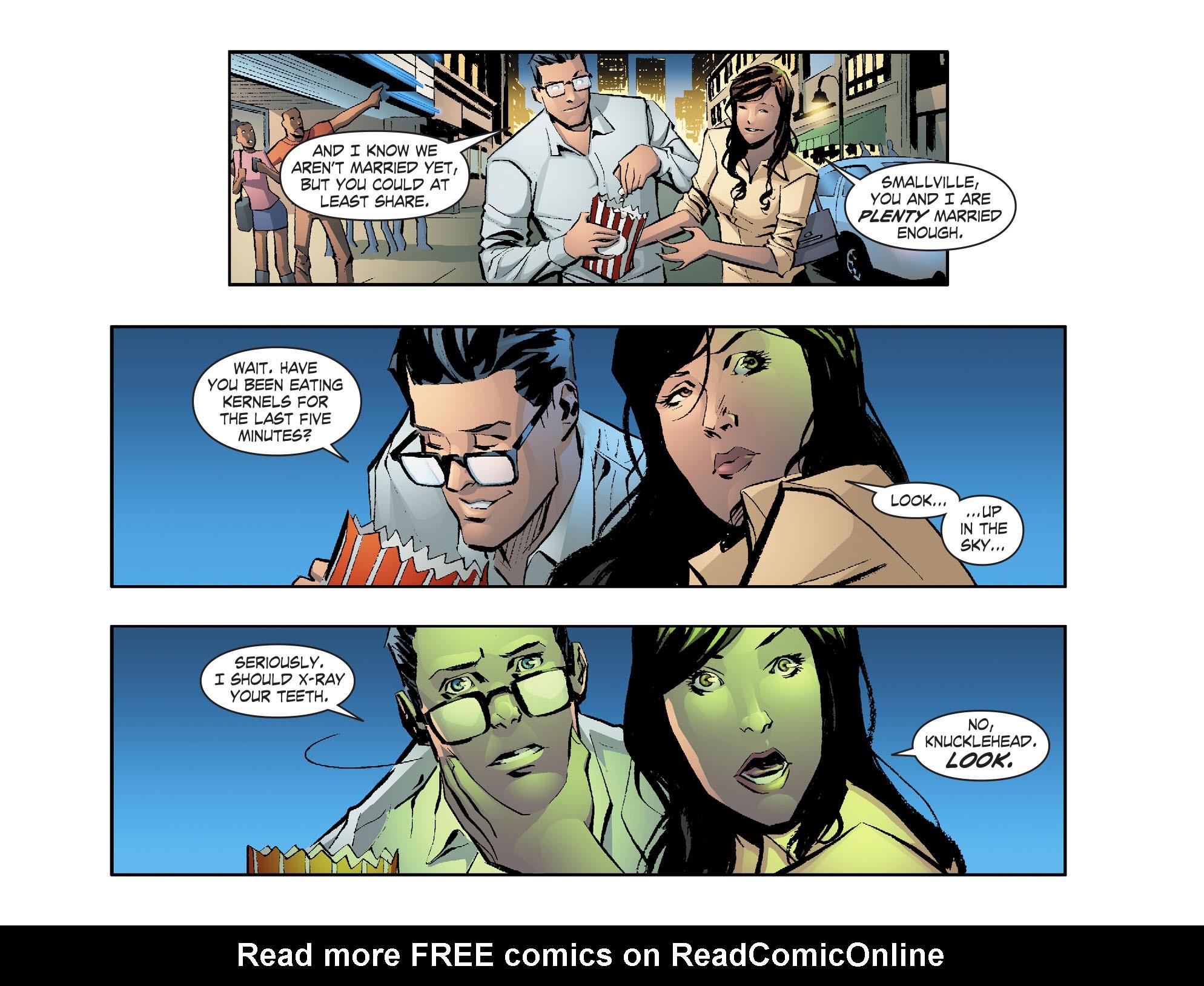 Read online Smallville: Lantern [I] comic -  Issue #1 - 16