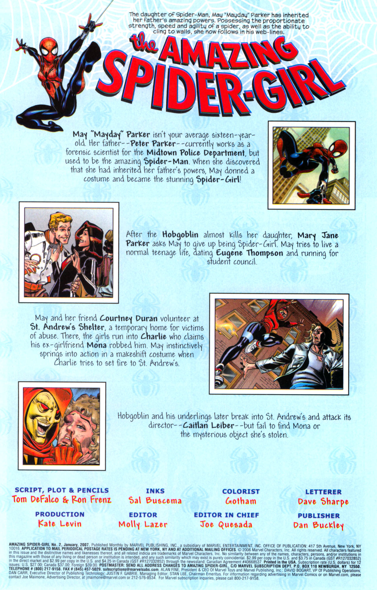 Read online Amazing Spider-Girl comic -  Issue #2 - 2