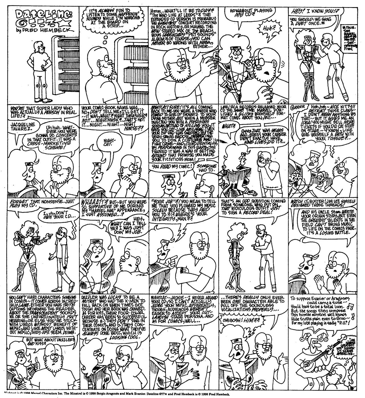 Read online The Nearly Complete Essential Hembeck Archives Omnibus comic -  Issue # TPB (Part 7) - 56
