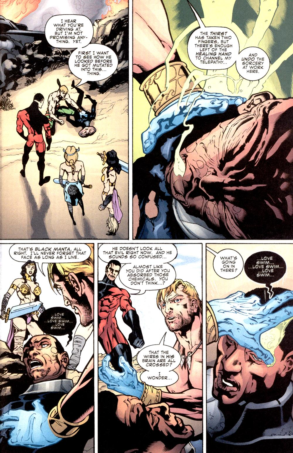 Read online Aquaman (2003) comic -  Issue #8 - 21