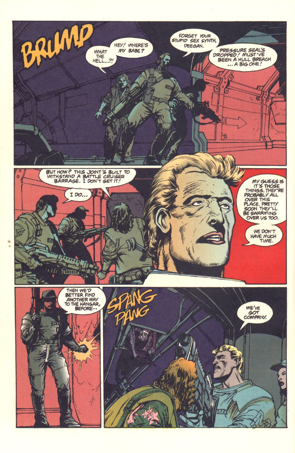 Read online Aliens: Rogue comic -  Issue #1 - 87