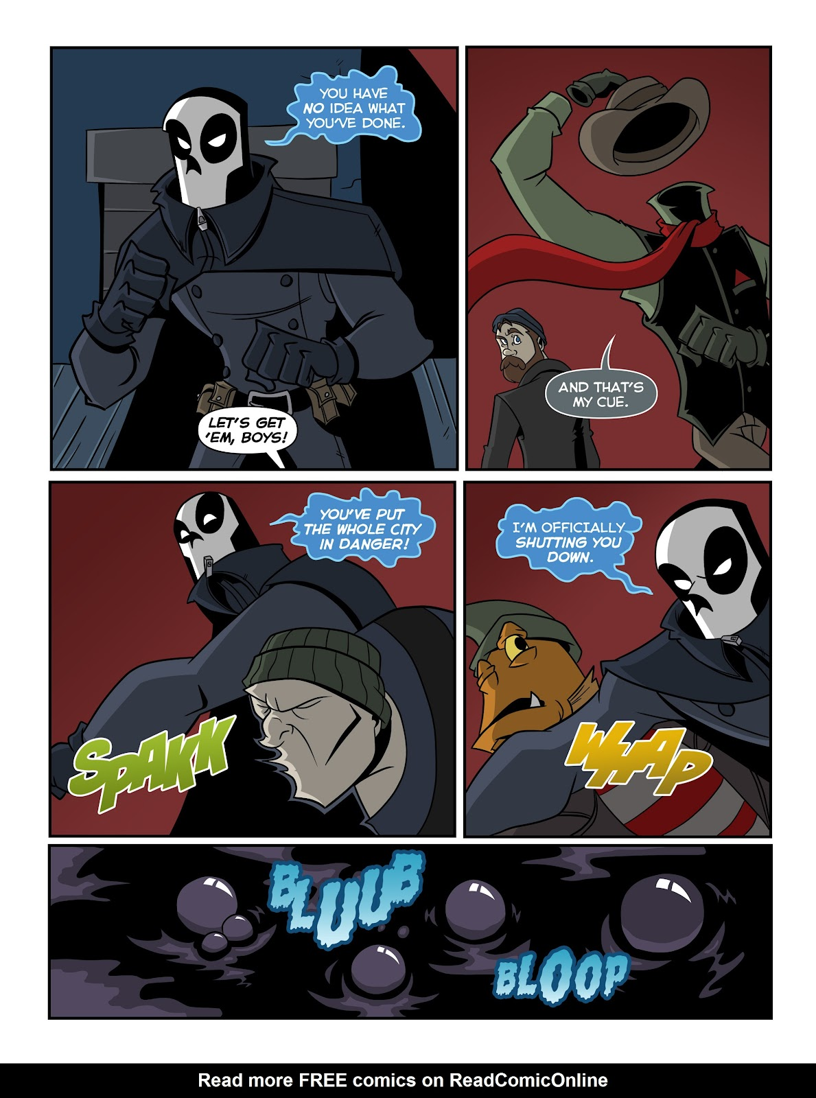 Read online The Haunter comic -  Issue #2 - 8