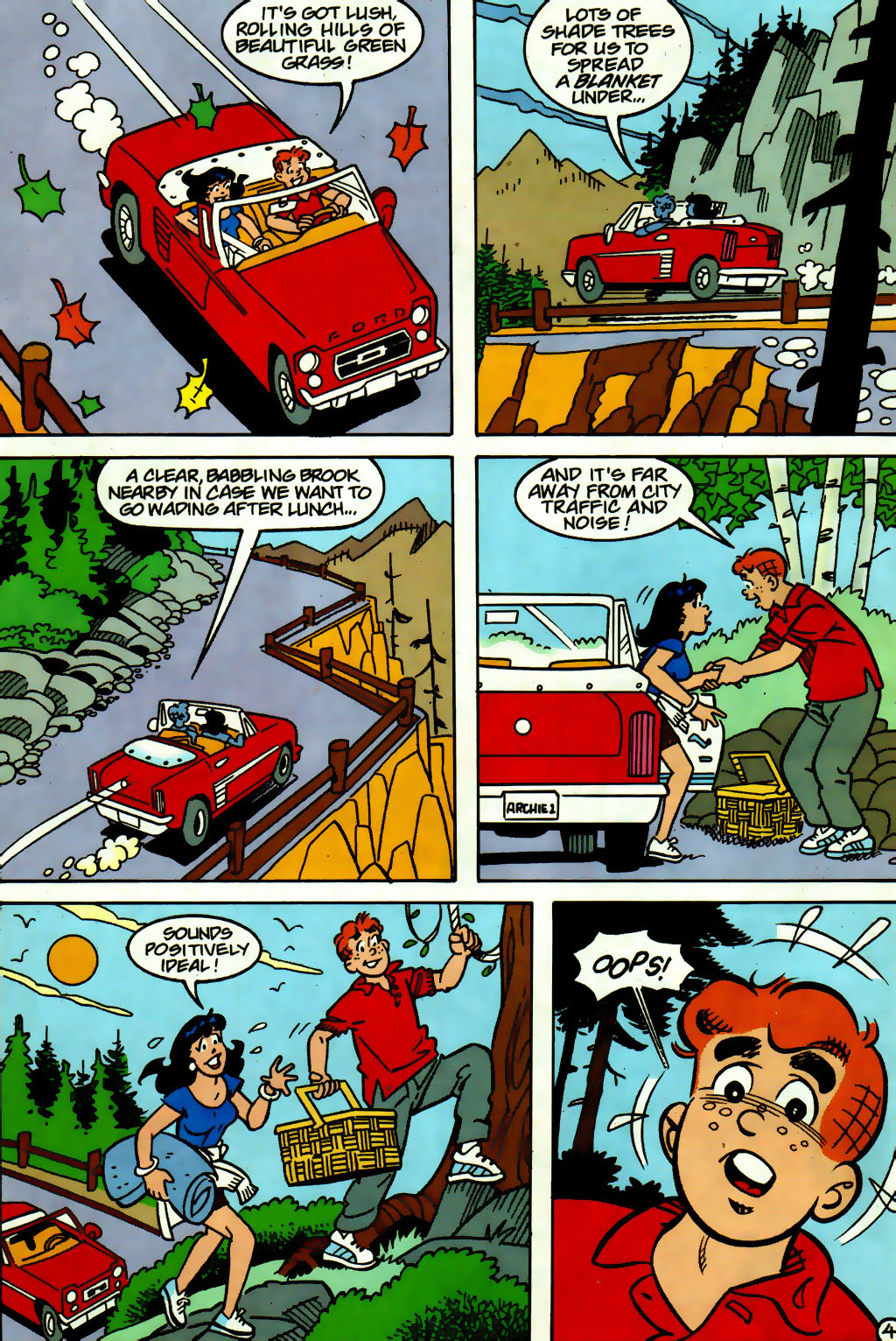 Read online Archie (1960) comic -  Issue #560 - 5