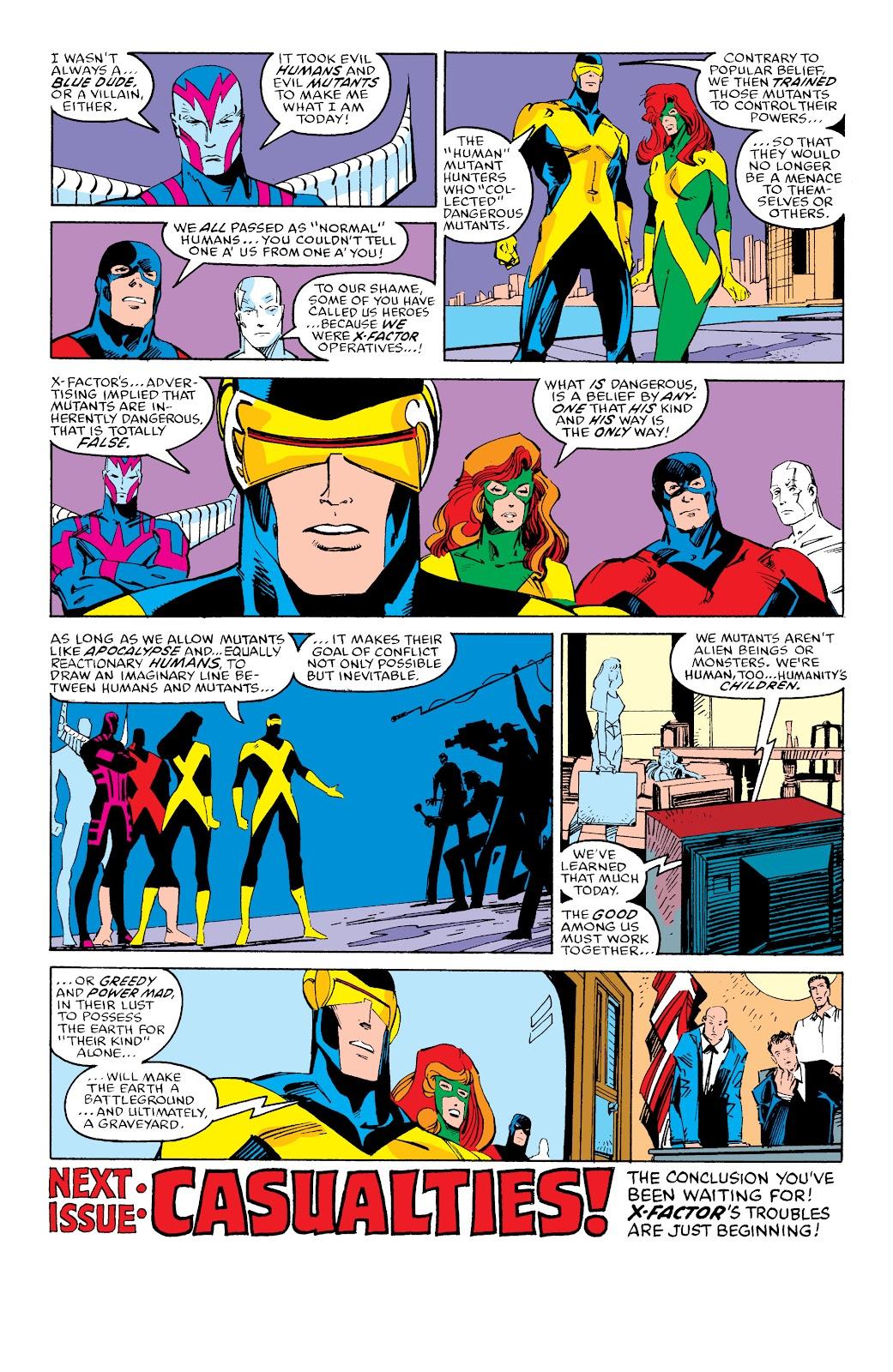 Read online X-Men Milestones: Fall of the Mutants comic -  Issue # TPB (Part 3) - 43