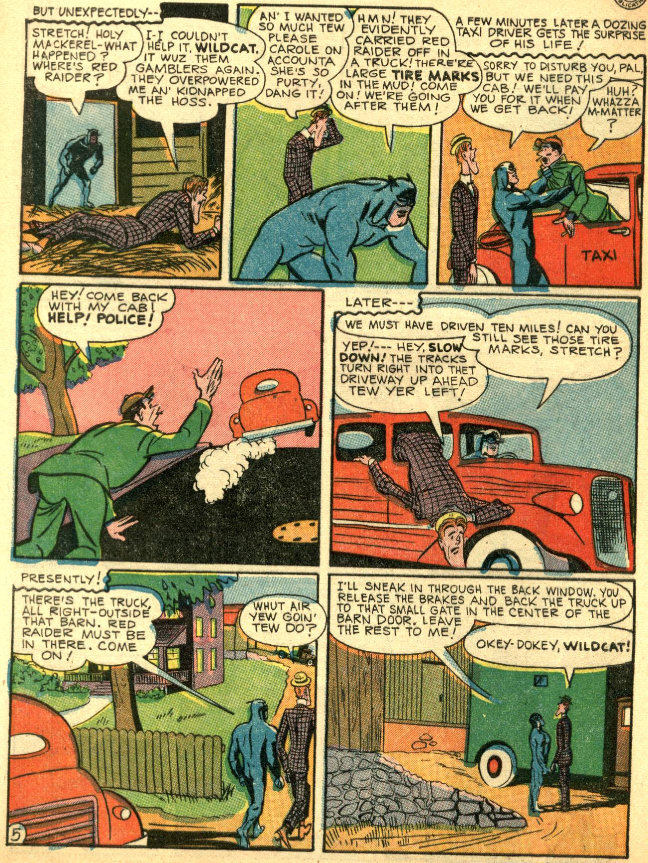 Read online Sensation (Mystery) Comics comic -  Issue #53 - 46