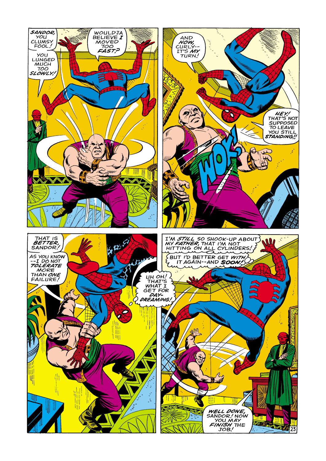 The Amazing Spider-Man (1963) _Annual_5 Page 23