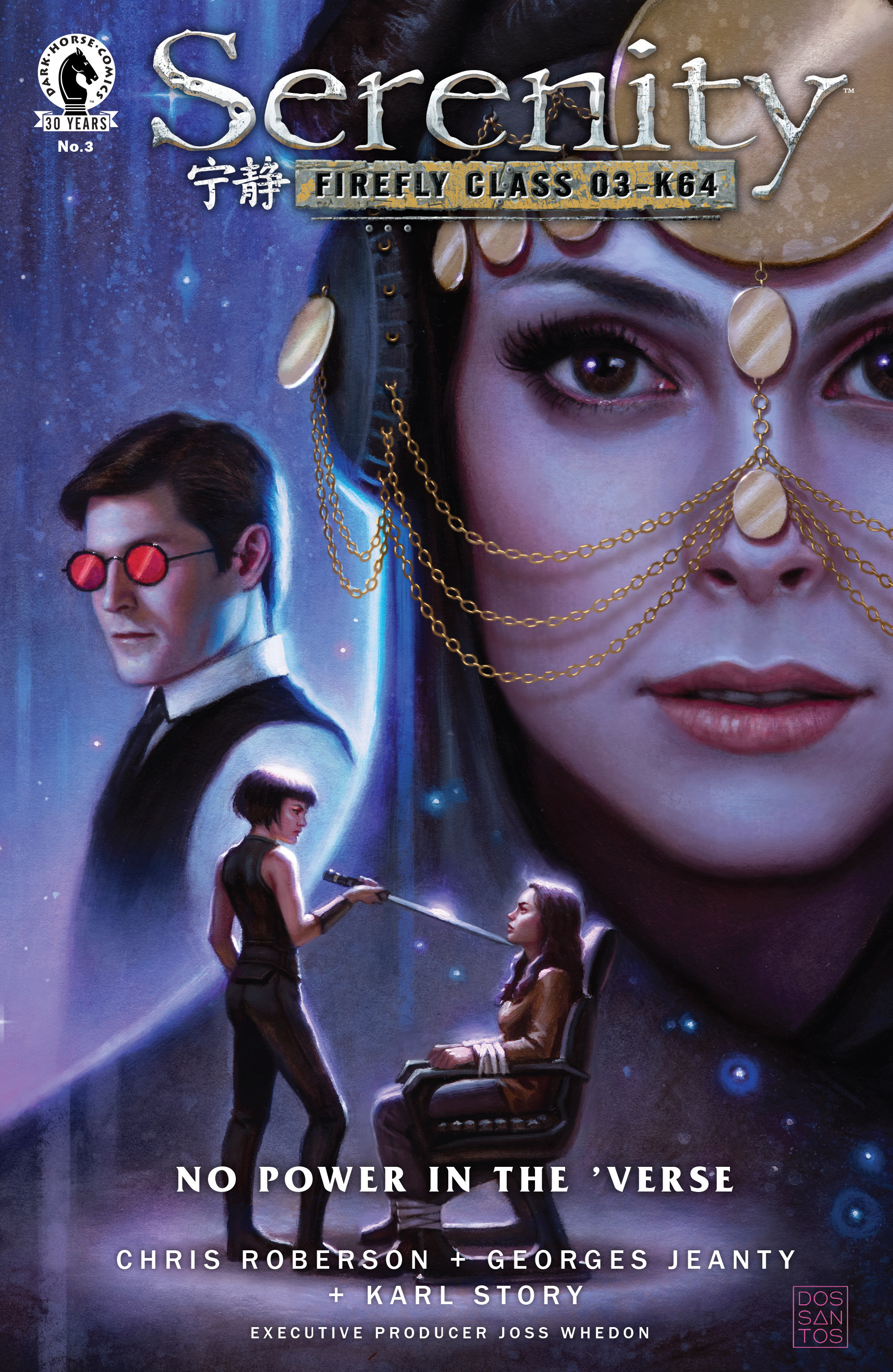 Read online Serenity: Firefly Class 03-K64 – No Power in the 'Verse comic -  Issue #3 - 1