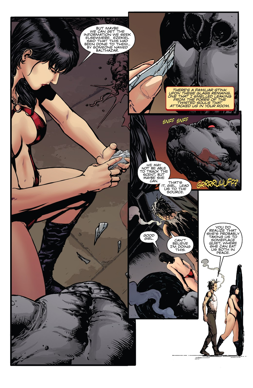Read online Vampirella Strikes comic -  Issue #5 - 22