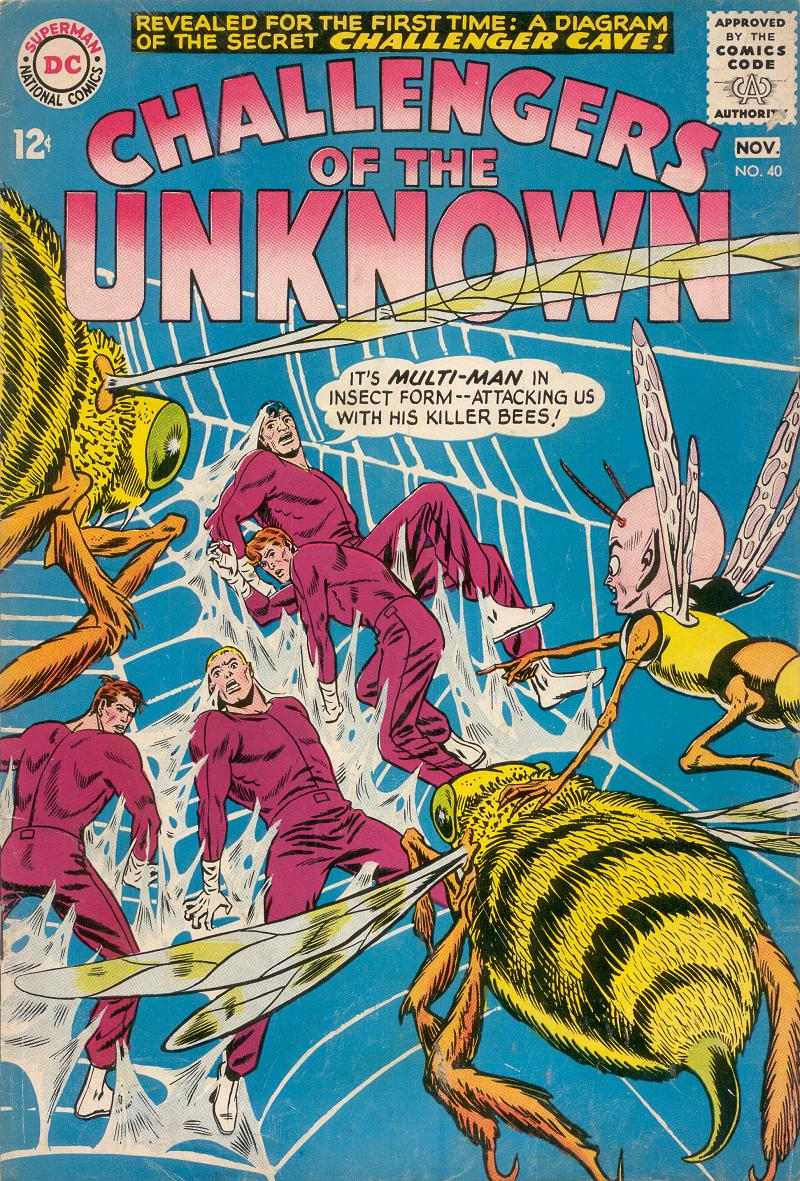 Challengers of the Unknown (1958) issue 40 - Page 1