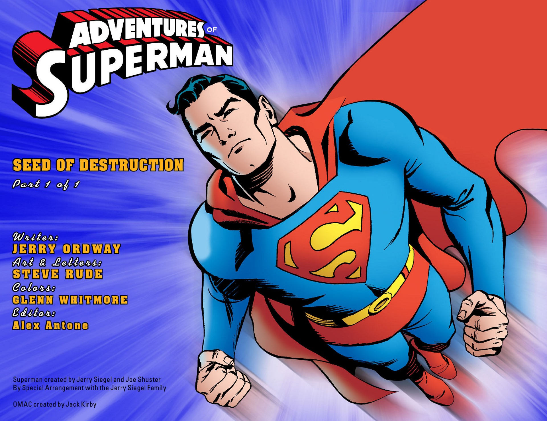 Read online Adventures of Superman [I] comic -  Issue #51 - 2