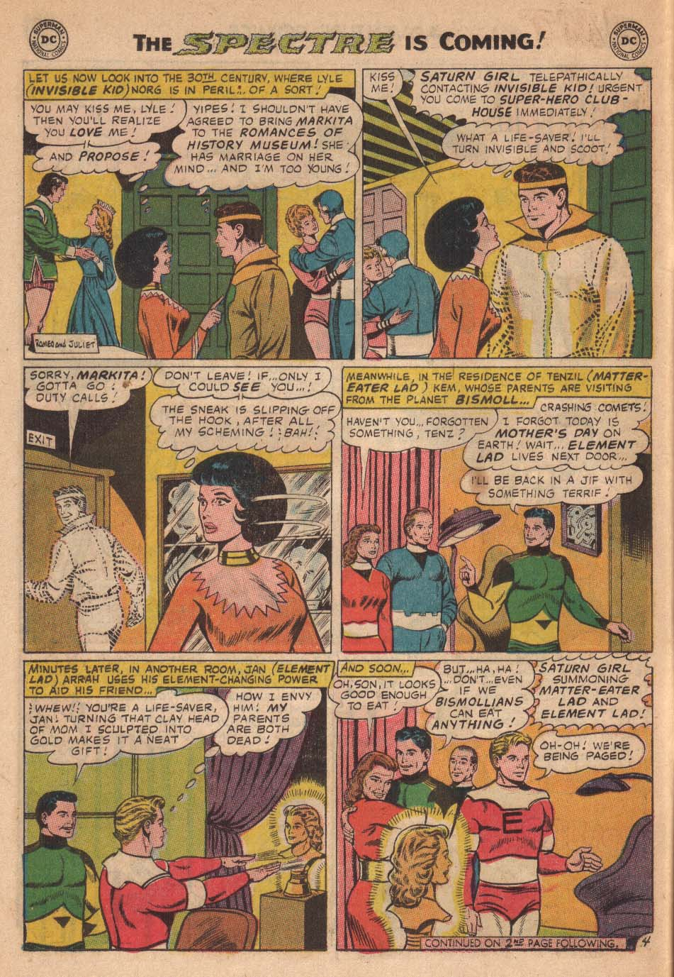 Read online Adventure Comics (1938) comic -  Issue #338 - 6