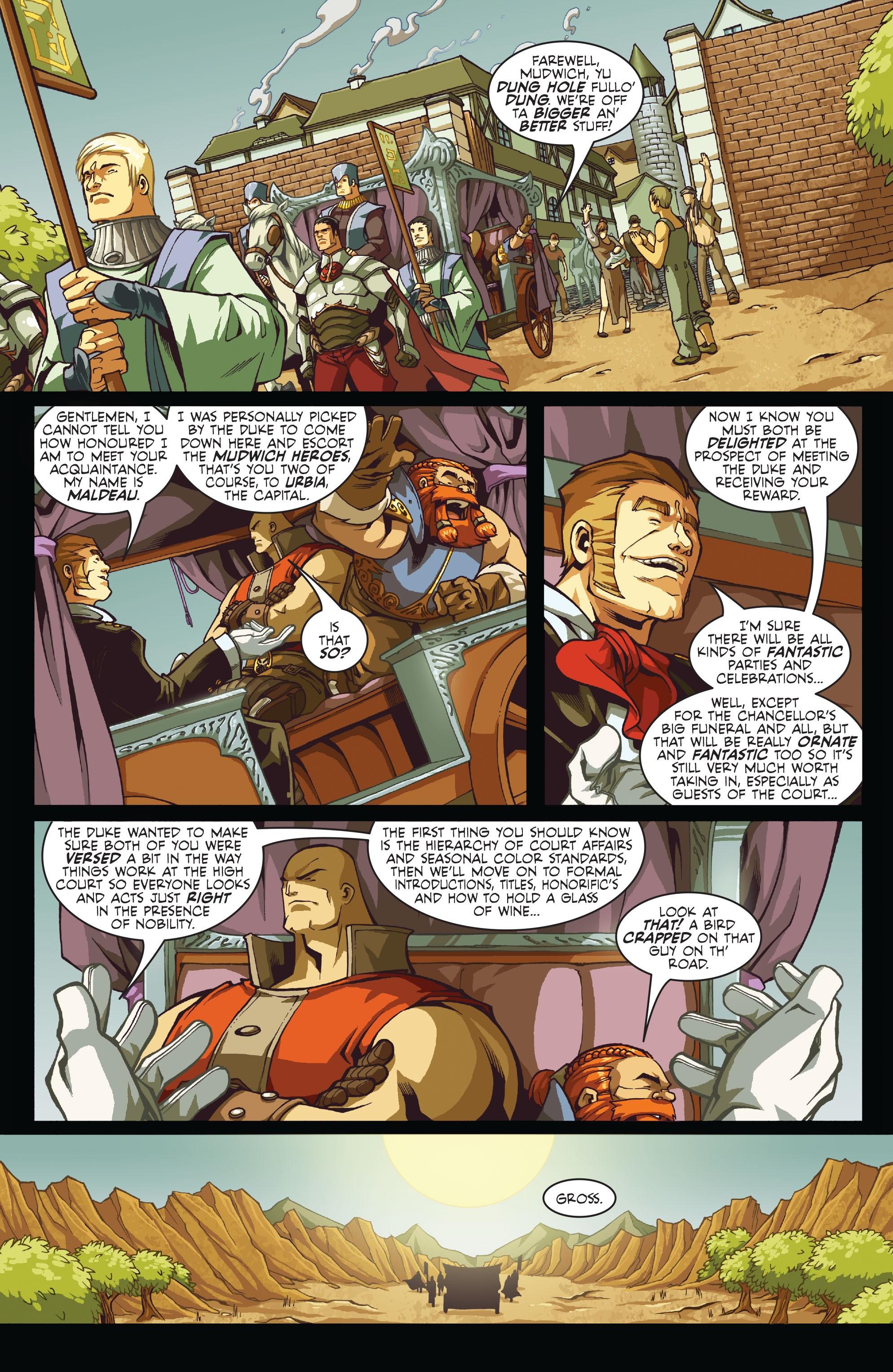 Read online Skullkickers comic -  Issue #7 - 7