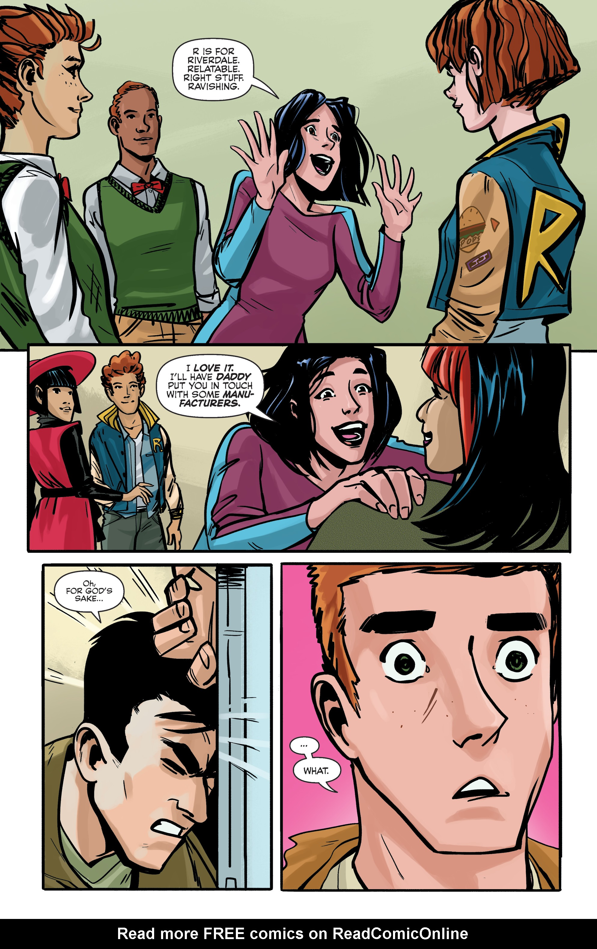 Read online Archie (2015) comic -  Issue #5 - 19