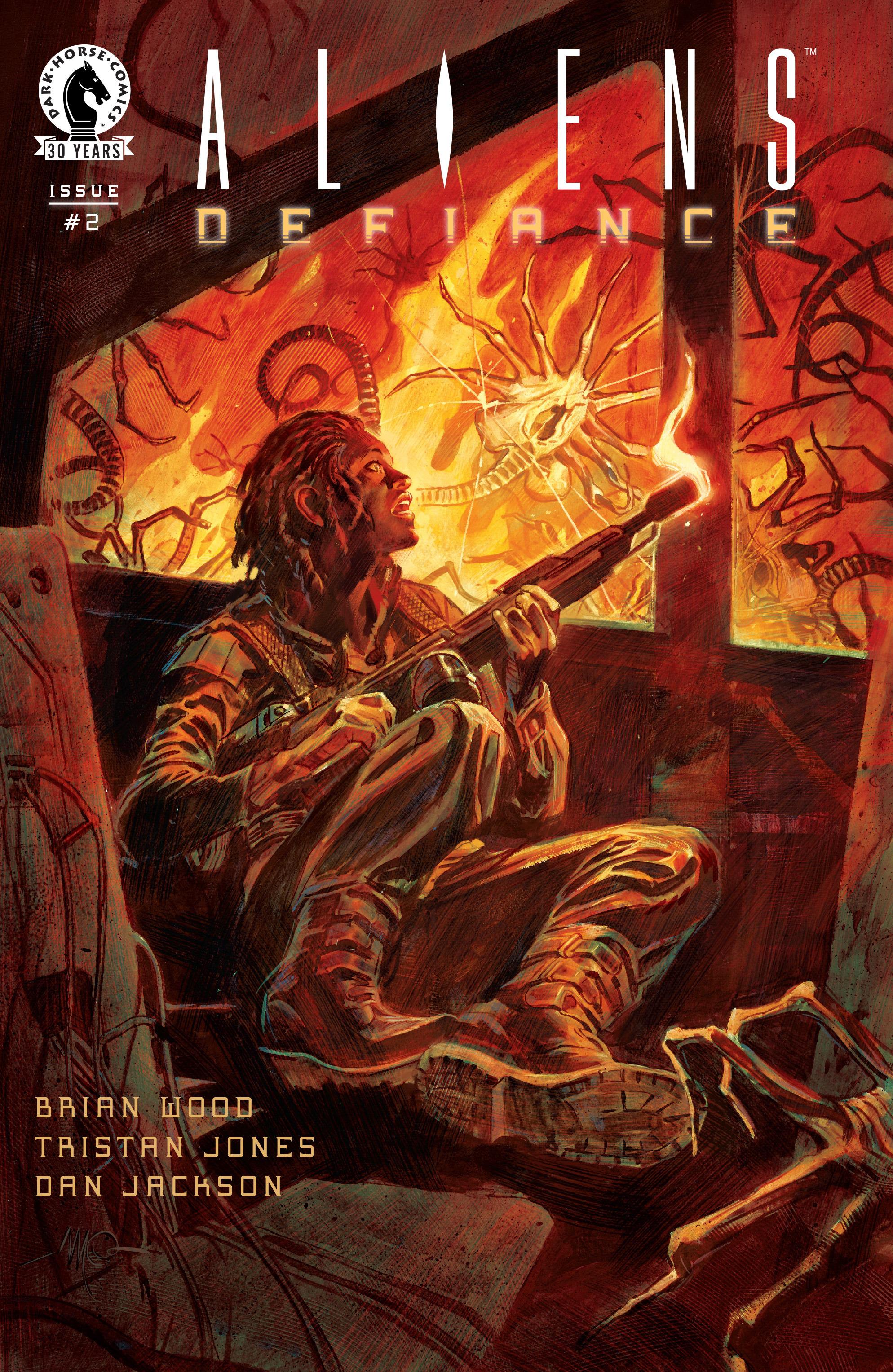 Read online Aliens: Defiance comic -  Issue #2 - 1