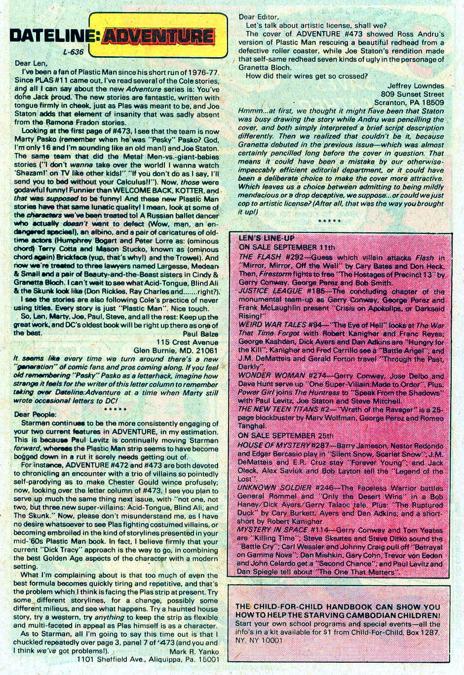 Read online Adventure Comics (1938) comic -  Issue #478 - 27
