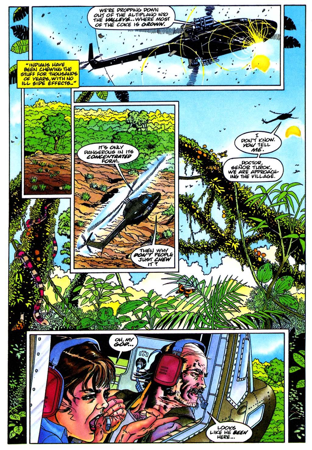 Read online Turok, Dinosaur Hunter (1993) comic -  Issue #28 - 6