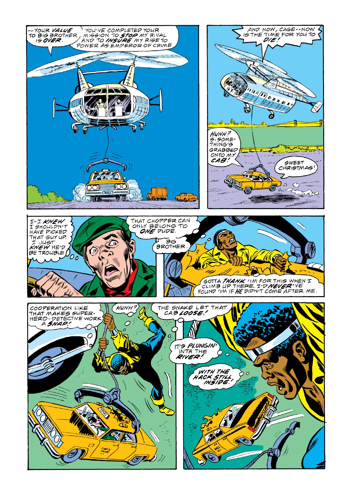 Read online Marvel Masterworks: Luke Cage, Power Man comic -  Issue # TPB 3 (Part 2) - 80