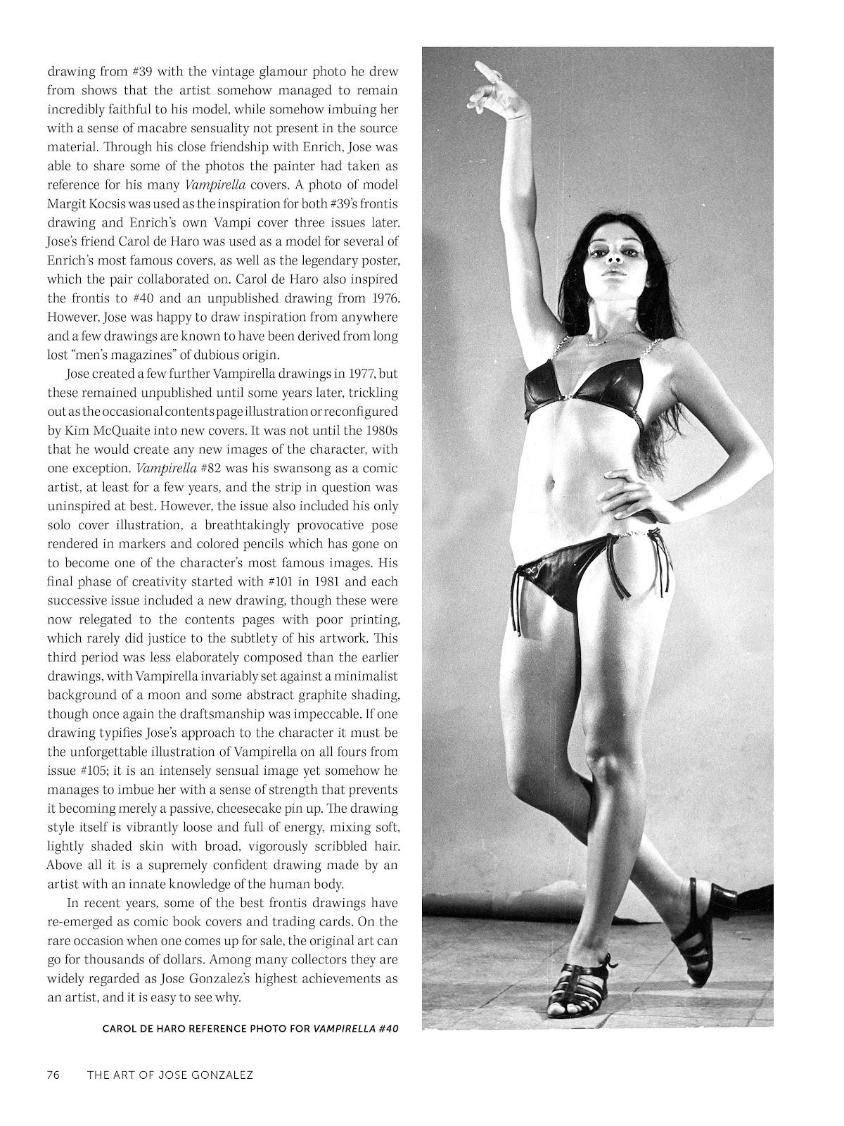 Read online The Art of Jose Gonzalez comic -  Issue # TPB (Part 1) - 77
