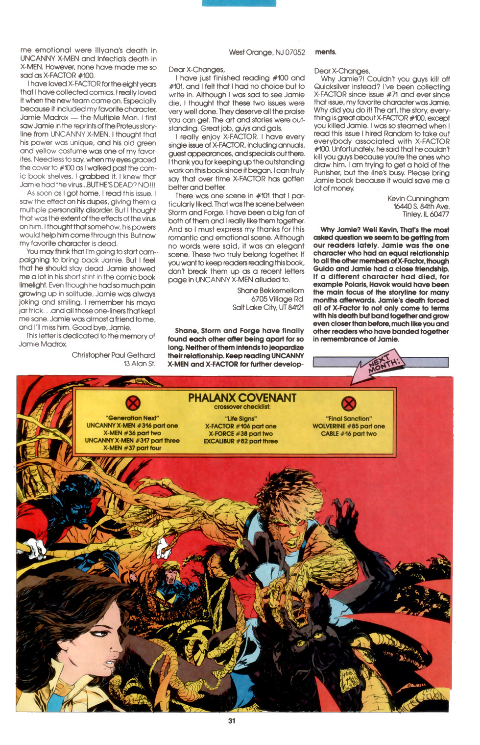 Read online X-Factor (1986) comic -  Issue #105 - 23