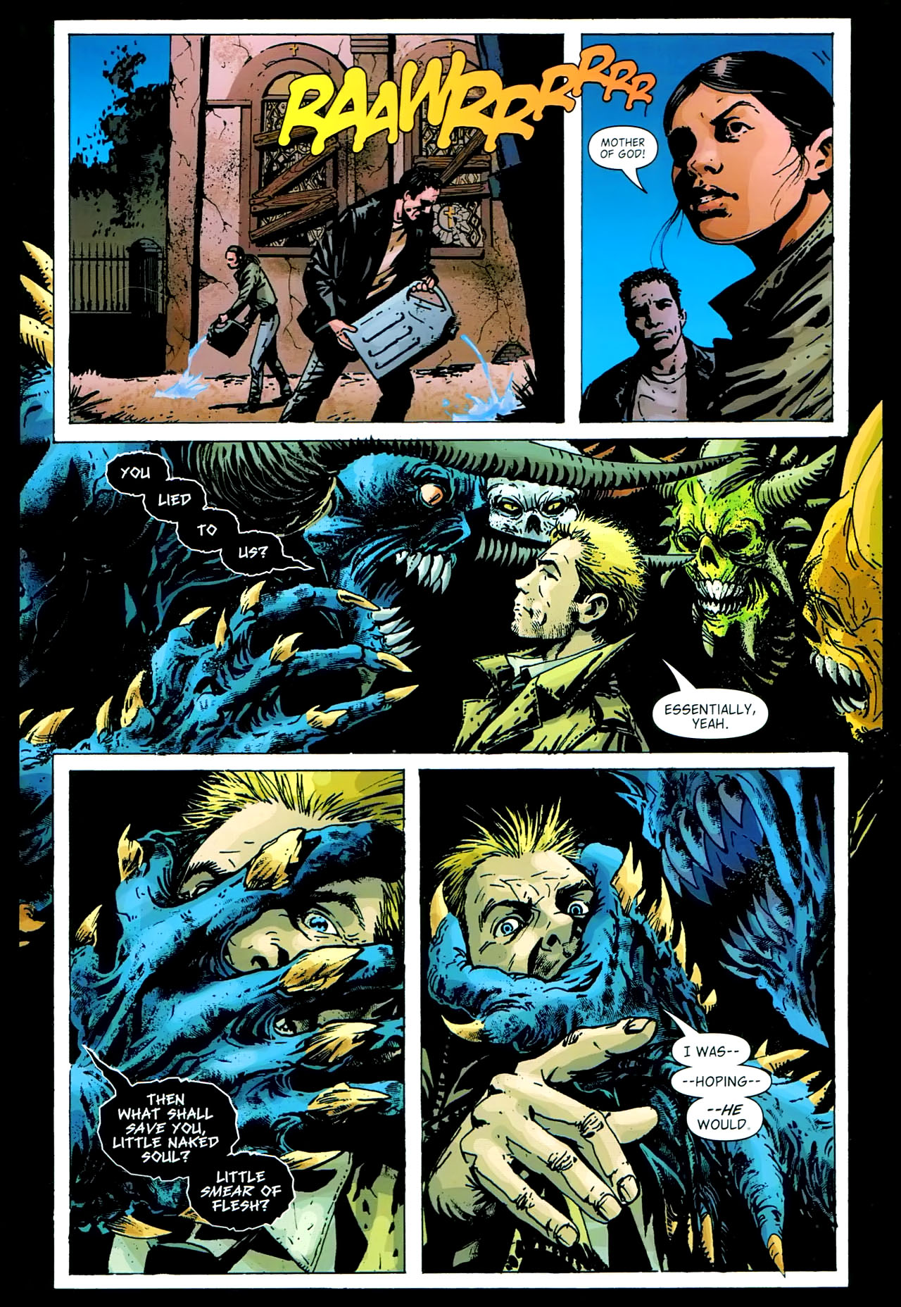 Read online John Constantine Hellblazer: All His Engines comic -  Issue # Full - 80