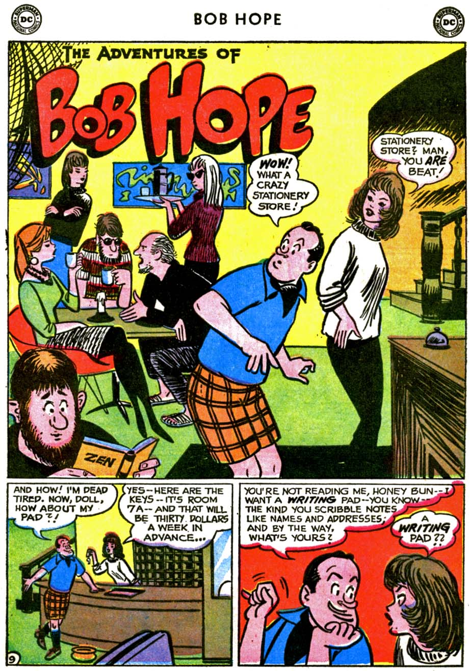 The Adventures of Bob Hope issue 72 - Page 13